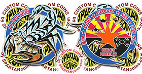 56th Component Maintenance Squadron Coin - Luke Air Force Base, Arizona