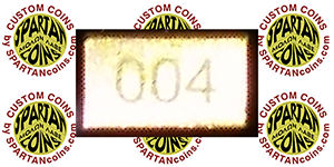 custom coin numbering