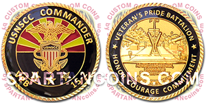 United States Navy Sea Cadets Corps custom coin