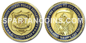 Military Retirement Coin