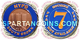 New York Police Department Challenge Coin
