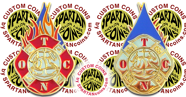 Officer Traning Command Newport navy challenge coin