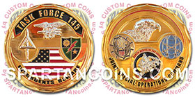 Task Force 145 Challenge Coin