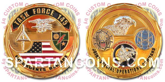 SpartanCoins.com - Custom coins and lapel pins made to order