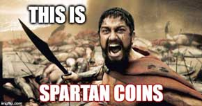 This is Spartan Coins!
