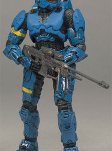 McFarlane Toys - Halo 3 Series 7 Blue Spartan Rogue