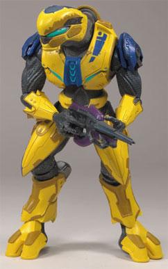 McFarlane Toys - Halo 3 Series 7 Yellow Elite Flight