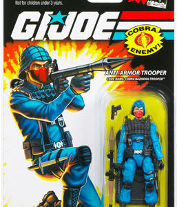 3.75 inch GI Joe Cobra Bazooka Trooper action figure