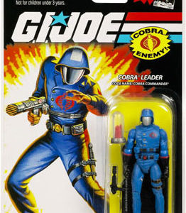 25th Anniversary GI Joe - Cobra Commander action figure