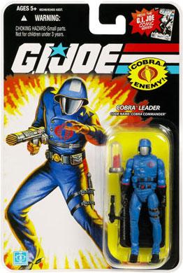 25th Anniversary GI Joe - Cobra Commander action figure