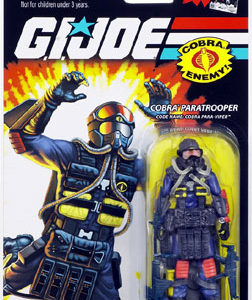3.75 inch GI Joe - Cobra Paratrooper Para Viper action figure