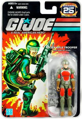 25th Anniversary GI Joe Flash action figure