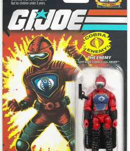25th Anniversary GI Joe - Cobra Hiss Driver action figure