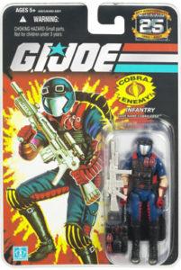 25th Anniversary GI Joe - Cobra Viper action figure