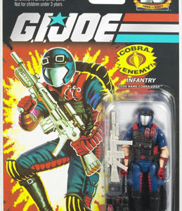 25th Anniversary GI Joe - Cobra Viper action figure
