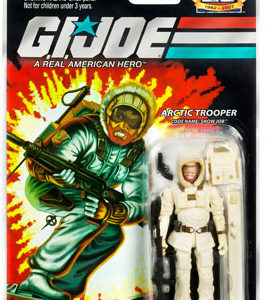 3.75 inch GI Joe 25th Anniversary GI Joe Snow Job action figure