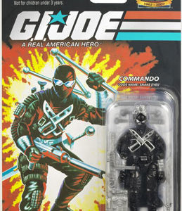 25th Anniversary GI Joe Snake Eyes action figure