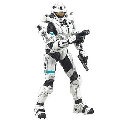 McFarlane Toys - Halo 3 Series 6 White Spartan Recon Soldier
