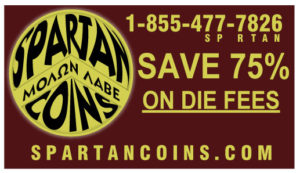 Save money with Spartan Coins