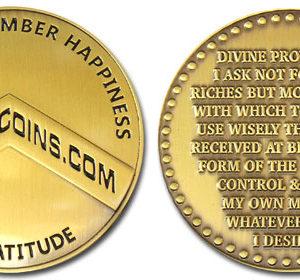 Gratitude Coin by Spartan Coins